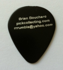 brian bouchard oldpicks guitar pick plectrum collection