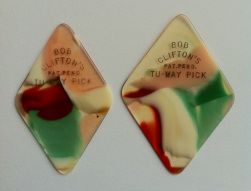 tinas picks pick plectrum collection vintage bob clifton tu-way