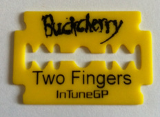 Buckcherry guitar pick