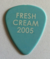 tinas picks pick plectrum collection cream eric clapton fresh 2005 m.s.g.