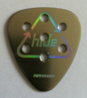 tinas picks pick plectrum collection x-japan fernades guitars hideto hide matsumoto