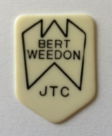 tinas picks pick plectrum collection vintage bert weedon jtc