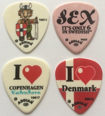 tinas pick collection tina picks plectrum pua copenhagen cobenhvn denmark