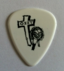 tinas picks pick plectrum collection ozzy osbourne joe holmes