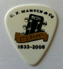 tinas pick collection picks plectrum c. f. martin & co.