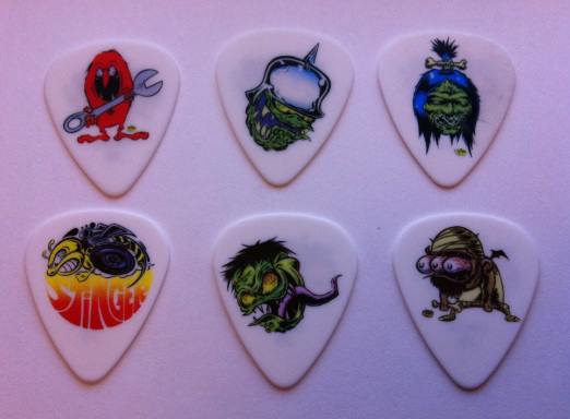 tinas picks pick plectrum collection dirty donny