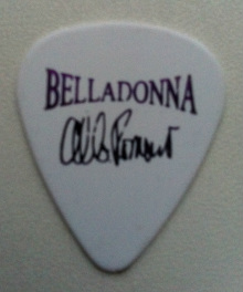 tinas picks pick plectrum collection belladonna al b. romano