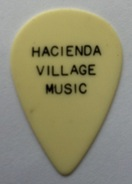 vintage guitar pick plectrum hacienda village