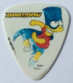 tinas pick collection tina picks plectrum pua batman bart simpson bartman grover allman