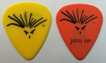 Janis Ian guitar pick plectrum collection