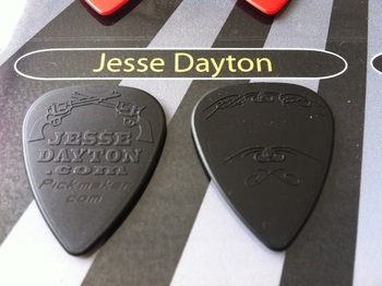 gmwpick.com tinas picks pick collection unusual custom personalised jesse dayton