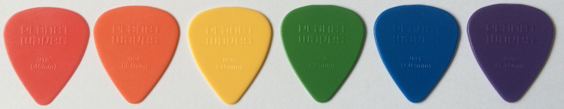 Tinas pick collection picks tina plectrum planet waves