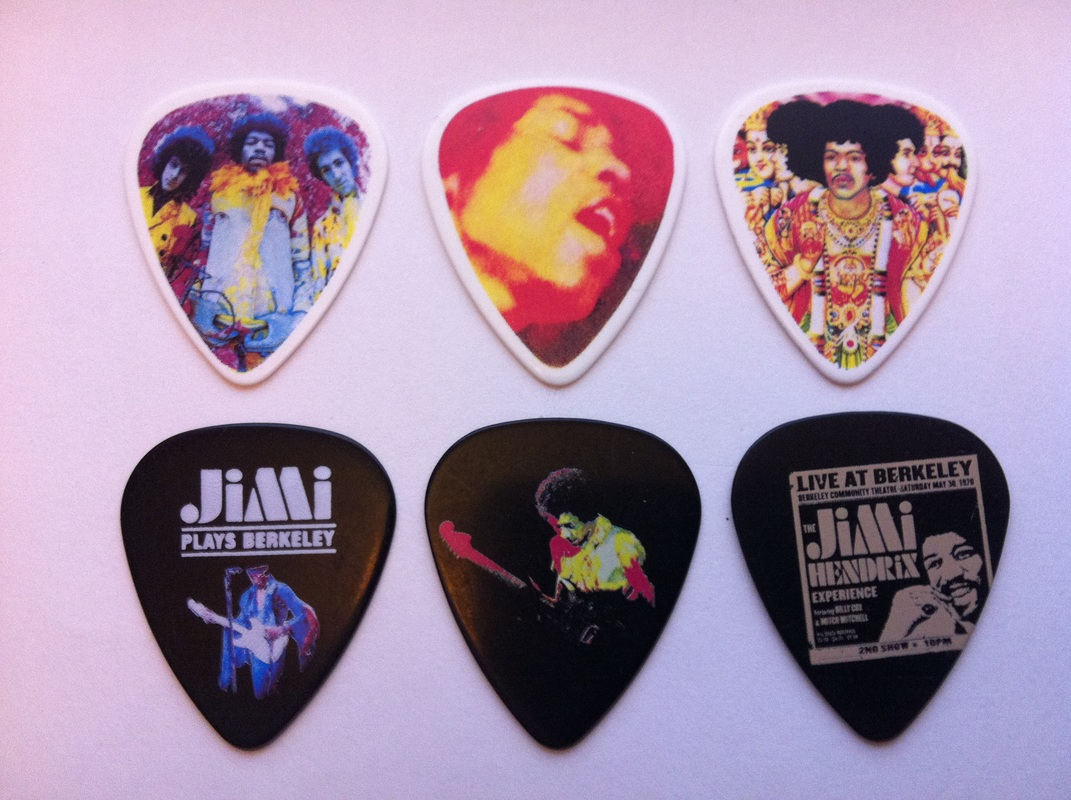 tinas picks pick plectrum collection jimi hendrix