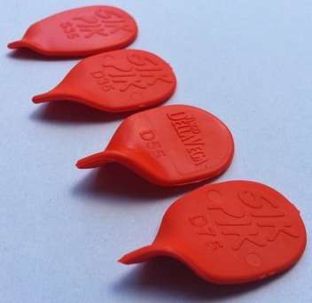 Sik Pik guitar pick plectrum collection sikpik tiago dell vega