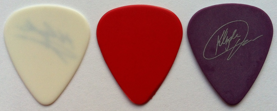 tinas picks pick plectrum collection awb klyde jones daryl hall john oates
