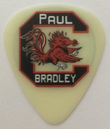 Paul Bradley guitarist tins pick collection plectrum